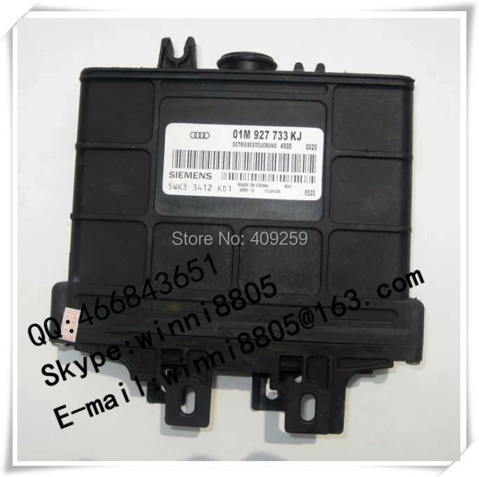 Engnine Control Unit (ECU) / For Passat car Gearbox Computer / wave box computer / 01M 927 733 KJ / 01M927733KJ(China (Mainland))