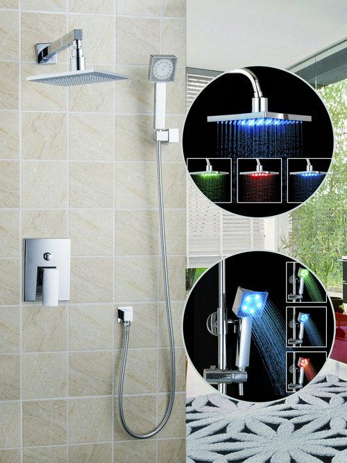 Comprar sola manija cromada ducha de ducha for Manija para ducha