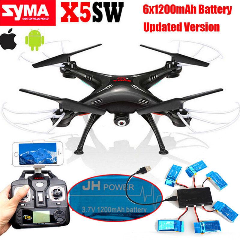 Free shipping Syma X5SW Wifi FPV 2 4Ghz 4CH RC Quadcopter font b Drone b font