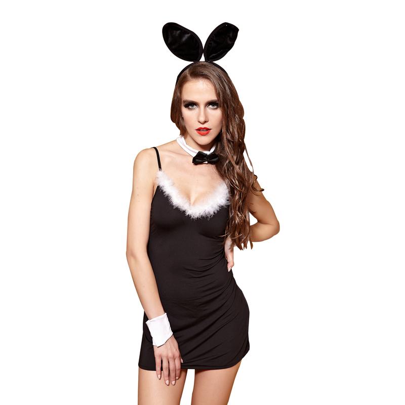 Sexy halloween bunny