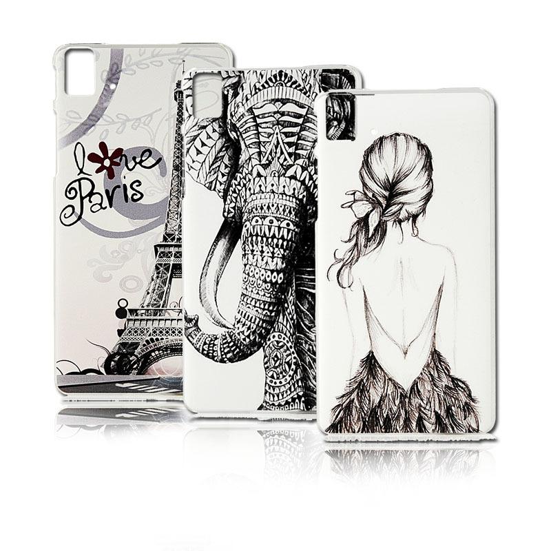 Hard Plastic Case For BQ Aquaris E5 Fashion Totem Colorful Drawing Skin Cute Animal Ultra Thin Protective Shell Phone Back Cover(China (Mainland))