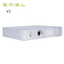 Buy High Power SMSL VMV V2 USB HD Audio Decoder Headphone Amplifier Interface HIFI EXQUIS 32bit /384 KHZ DAC /Optical Analog Outputs for $107.99 in AliExpress store