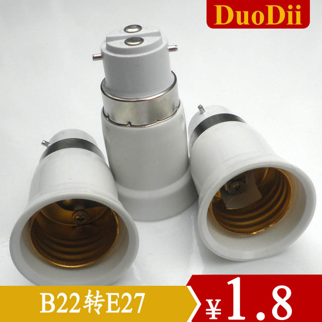 Conversion lamp b22 e27 multifunctional lamps and accessories conversion lamp base card screw-mount size