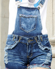 Hot Sale Children's Clothing Spring and Autumn Girls Denim Overalls Blue Jean Overalls For Kids Girls Rompers Free Shipping(China (Mainland))