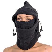 Balaclava Hat Hooded Neck Warmer Winter Sports Face Mask for Ski Snowboard Bike Motorcycle Helmet Cap(China (Mainland))