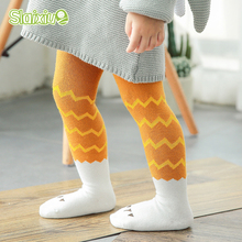 Geometric Pattern Kids Girls Stocking Children Tights Toddler Baby Boys Stocking Girls Tights Pantyhose Infant Clothing For 0-3Y