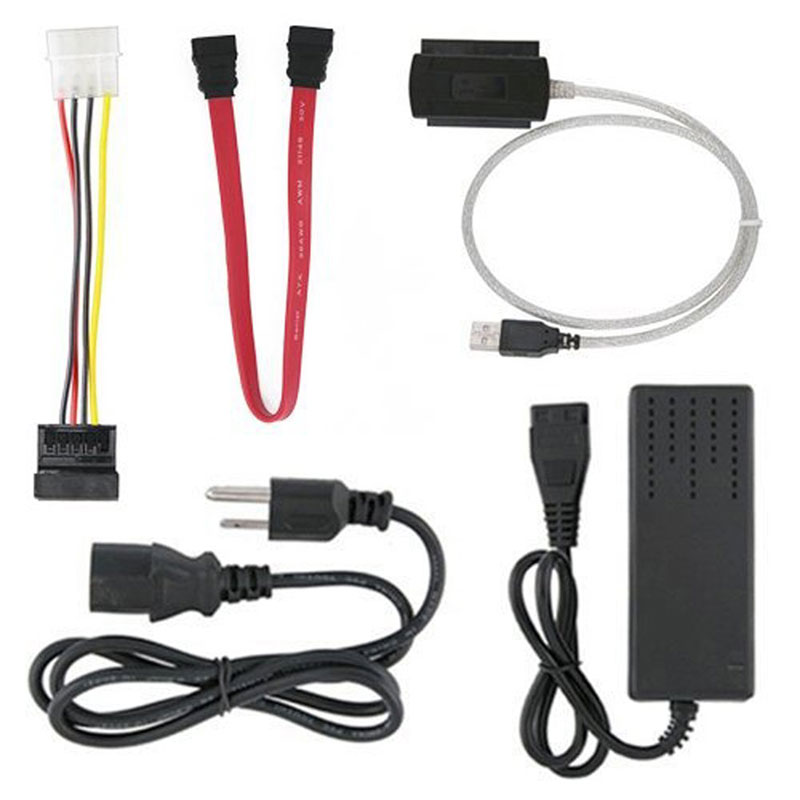 SATA/PATA/IDE Drive to USB 2.0 Adapter Converter Cable for Hard Drive Disk HDD 2.5(China (Mainland))