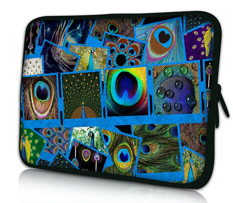 Peacock-Feather-Soft-Neoprene-Netbook-Laptop-Sleeve-Case