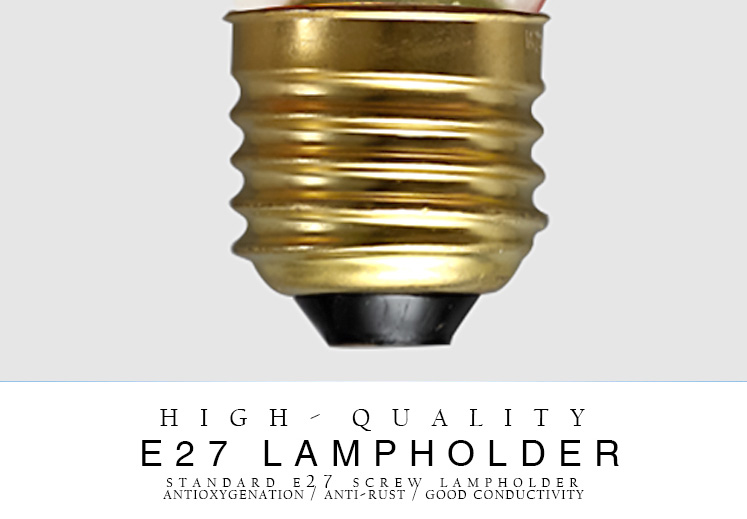 Vintage edison light bulb G95 incandescent decorative bulb E27 110/220V Filament bulb antique retro Edison lamp Edison bombilla
