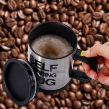 Hot Selling Self Stirring 400 ML Automatic Electric Coffee Cup Smart Stainless Steel Mugs Perfect Souveni