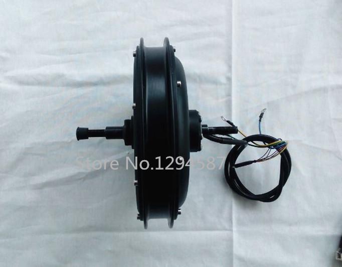 Free shipping , Ebike Brushless gearless hub motor 48v 500w for electric bike , 48v ebike hub motor(China (Mainland))