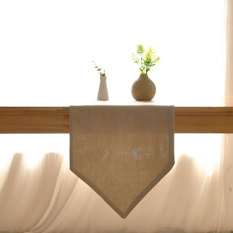 product Free shipping Japanese simple plain style table flag coffee table runner cloth soft-mounted home flag