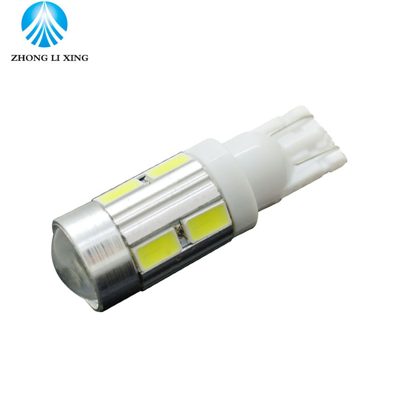 5pcs 5W Canbus W5W LED T10 Light 5730 SMD 12V Car LED Interior Light Clearance Bulbs Backup Reverse Lamp Number Parking Light(China (Mainland))