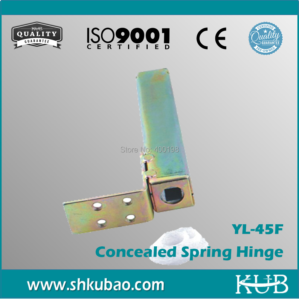 Wholesale Hardware Door fittings Cold Pressing YL-45F cold room Spring Hinge(China (Mainland))