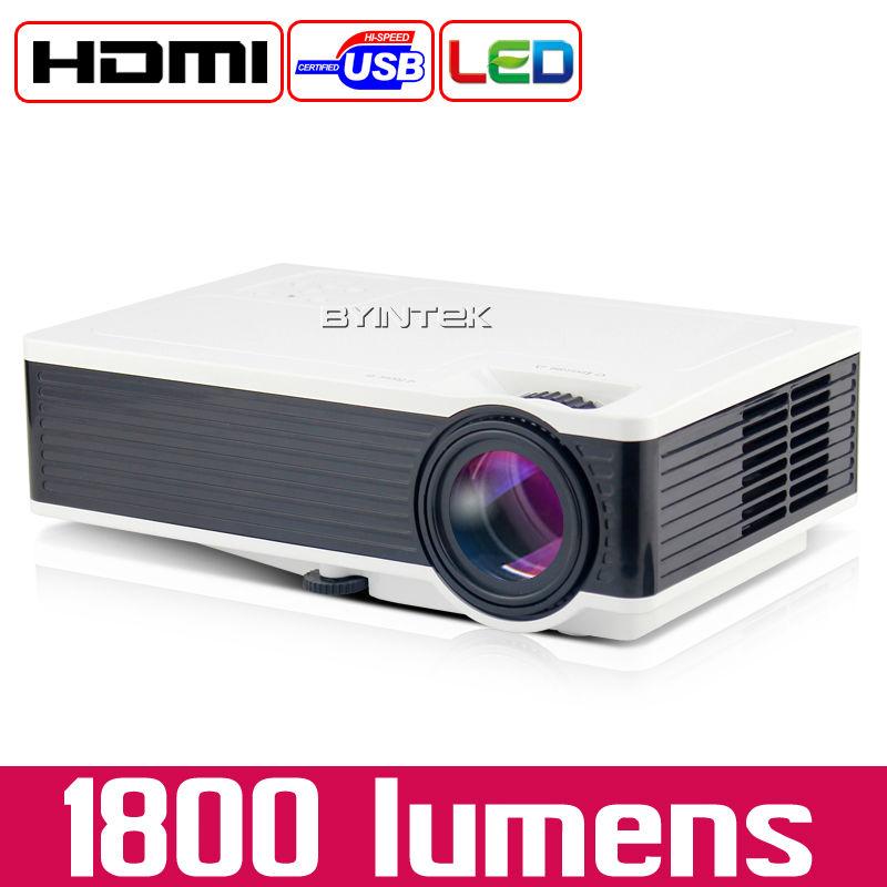 BYINTEK X1600 Cheap China Digital HDMI USB Home Theater Best 1080P Portable Pico LCD LED Video Mini Projector Beamer Proyector(China (Mainland))