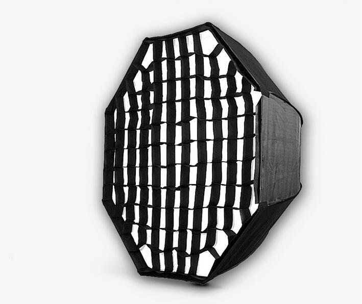 Nicefoto KS120 Honeycomb 95cm Grid Umbrella Frame Photo Studio Octagon Softbox Soft Box For All Strobe Flash Lighting(China (Mainland))
