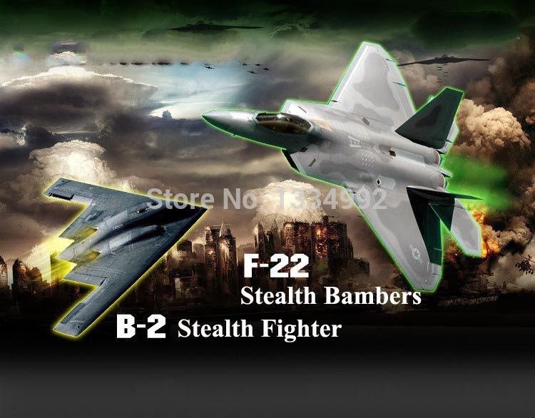 Cool 4CH RC Quad Helicopters with LED Army Stealth Fighter Stealth Bombers Quadcopters 2.4Ghz 4axis Sky Walker RC Aircraft Model(China (Mainland))