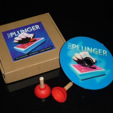 Гаджет  Tiny Plunger by Jon Armstrong MathieuBich and GarrettThomas - Trick,  Metal stage magic/magic props/as seen on tv -High quanlity None Игрушки и Хобби