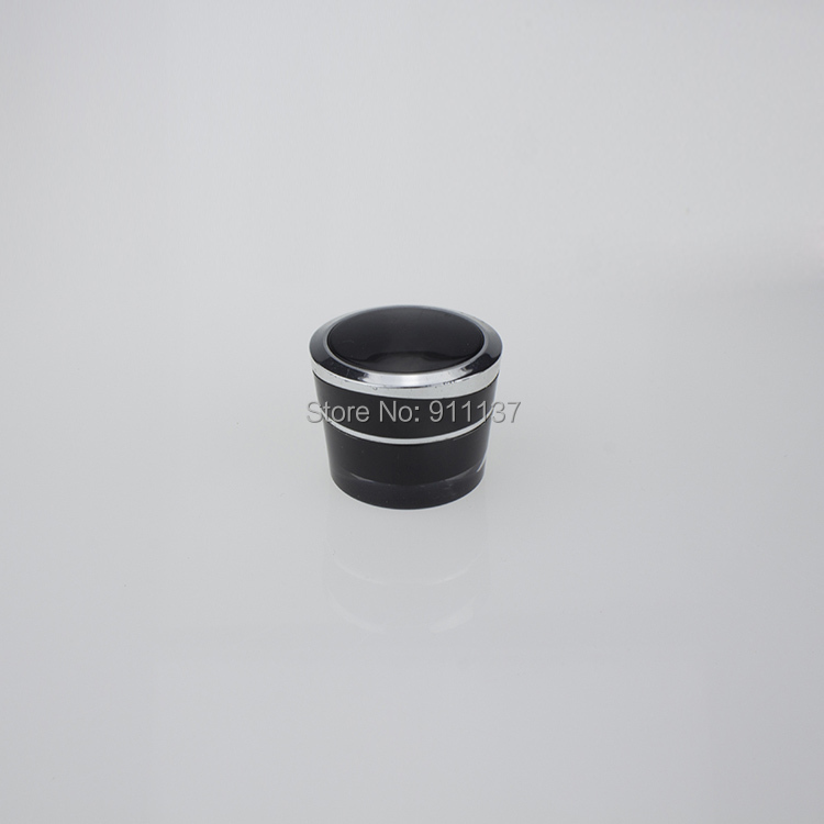 JA92 black plastic 5ml cosmetic little jars | little plastic containers with lids | acrylic5g cosmetic mini containers(China (Mainland))