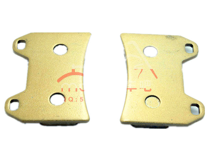 Motorcycle fits BMW F650 Xmoto 07-09 front brake pads Security high quality brake pads Free Shipping(China (Mainland))