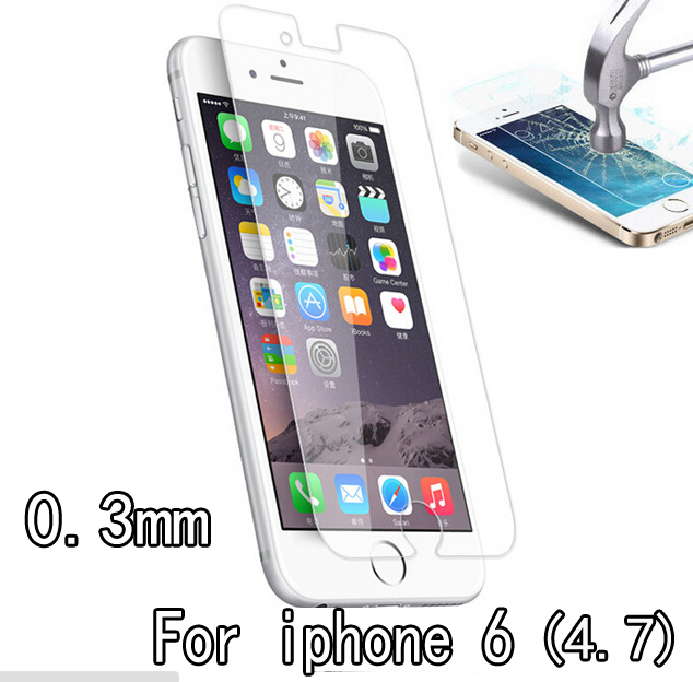 pelicula de vidro 0.3mm compact tempered glass screen protector apple iphone 6 4.7'' - ShenZhen Electronic mall store