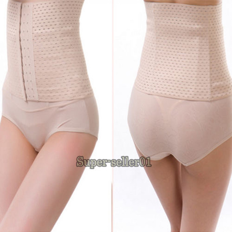 Hot Weight Loss Slim Waist Train Cincher Under Bust Corset Body Shaper Women Tummy Body Belt Slimming Wrap Healthy And Beauty