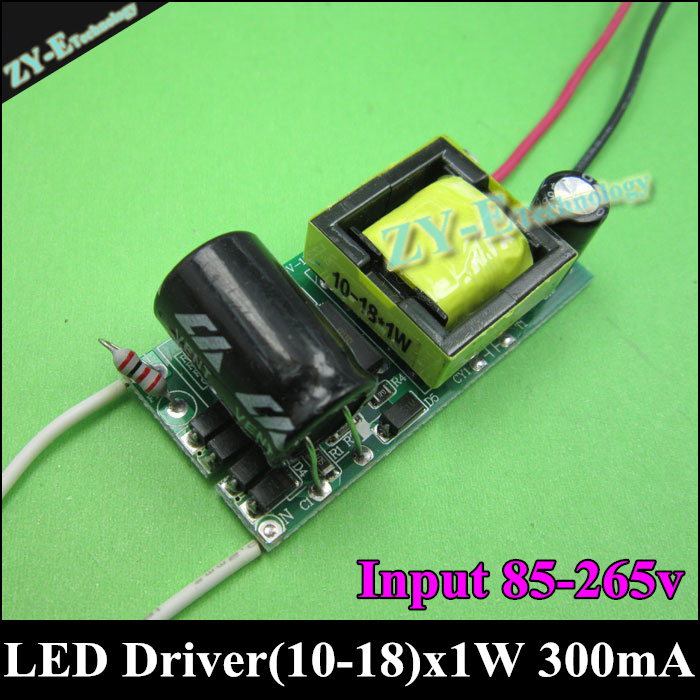 LED Driver Constant Current Led Transformer LED power Supply 10-18x1w LED Driver 300mA 10w 12w 15w 18w AC110 220V Input freeship<br><br>Aliexpress