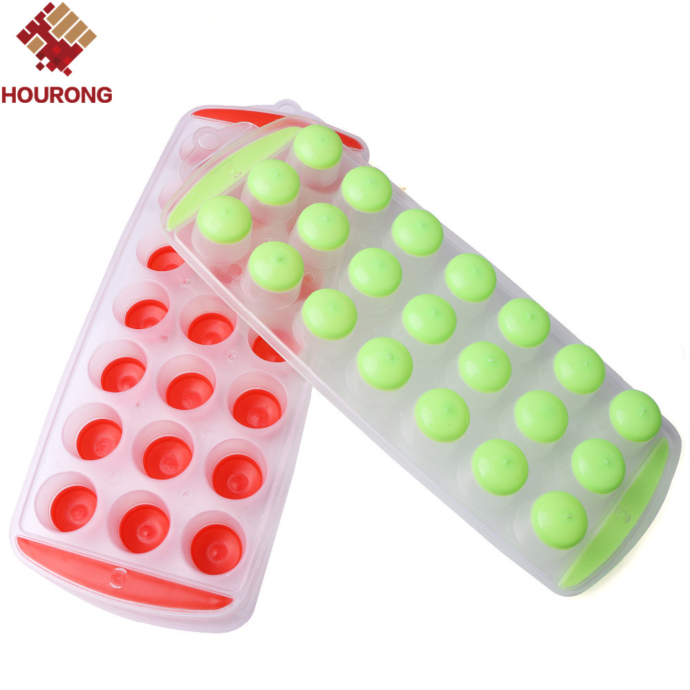 2016 Hot Sale 1 Pcs 21 Balls Dots Ice Mold Ice Cube Tray Ice-making Box Mold For Bar Party Kitchen Tools(China (Mainland))