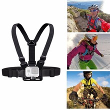 Xiaomi Yi Gopro Hero 4/3/3+/2 Accessories Chest Belt Action Camera Holder Sport Cam SJ4000 Strap Mount Adjustable Go pro Hero4