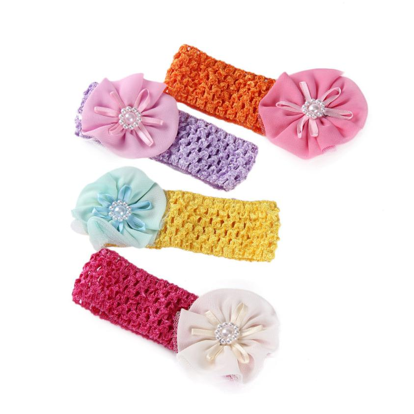 Stylish 1 pcs Lovely Girls Boys Baby Headbands Flower Hair Accessories Infant Hair Band Nice Gifts(China (Mainland))