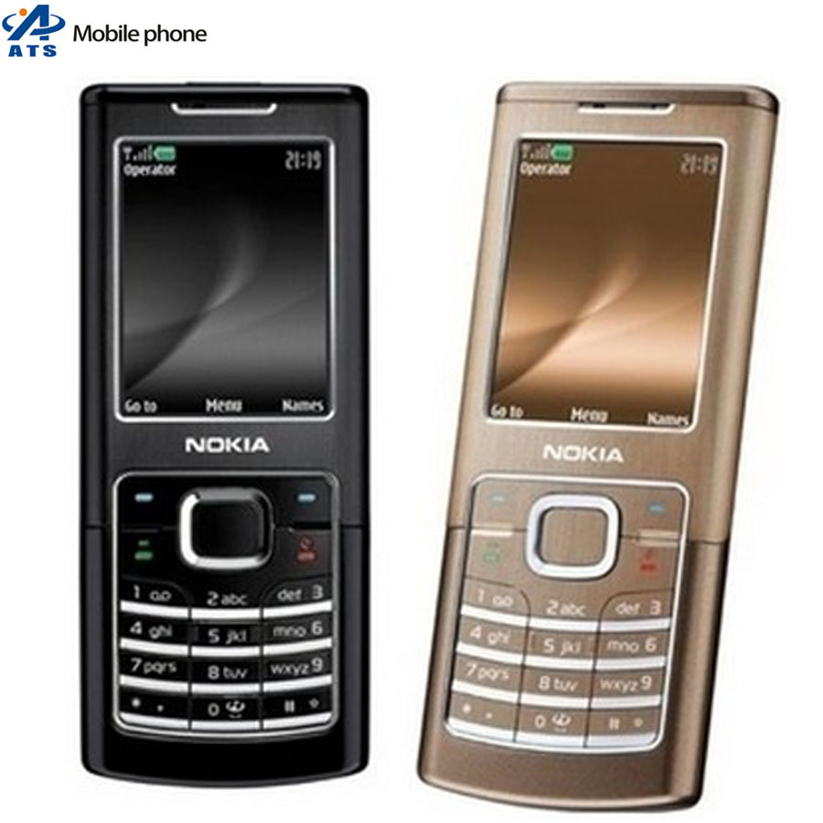 6500C Original Nokia 6500 Classic Mobile Phone 2MP MP3 Bluetooth Russian keyboard Support mobile phone(China (Mainland))