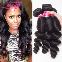 Hot Selling Beauty Hair 7a Peruvian Virgin Hair Loose Wave 1 Bundle Peruvian Loose Wave Virgin Hair Halo Hair Extensions