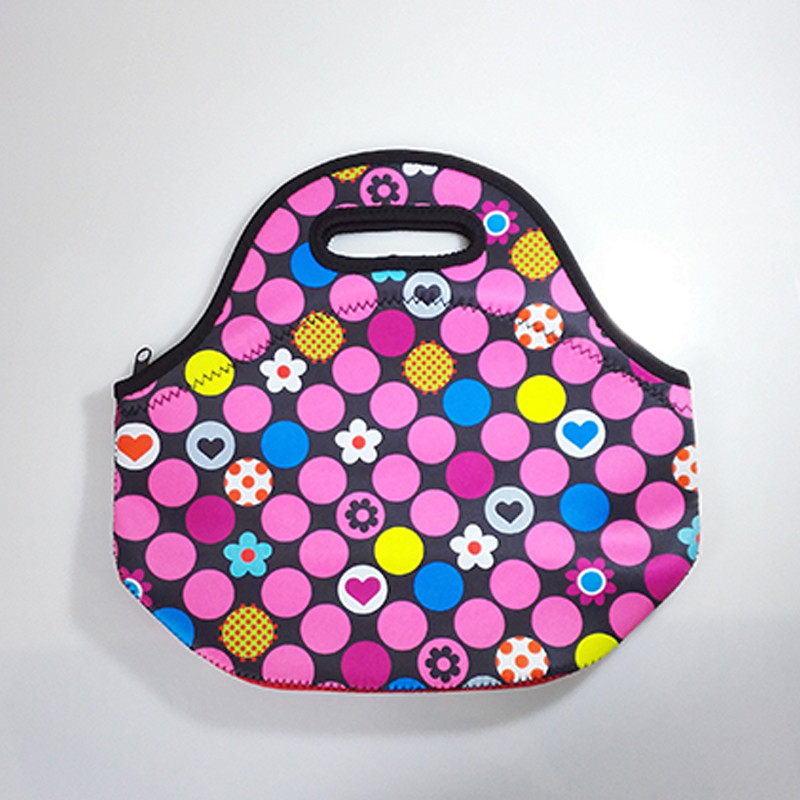 Термокружка тепловой мешок изолированная сумка холодильник толстые дети неопрена обед мешок коробки открытый контейнер еды мать ребенка NEO-888