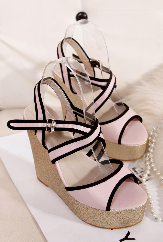 Light Pink High Heel Sandals