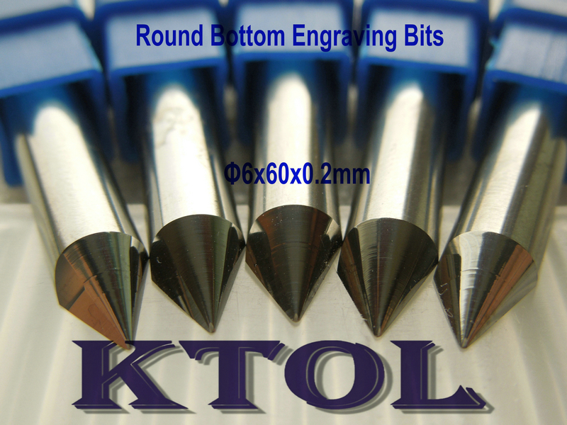 Комплектующие к инструментам KTOL 6mmx60 10 , 0,2 , CNC 3D , KTYDJD6-0260