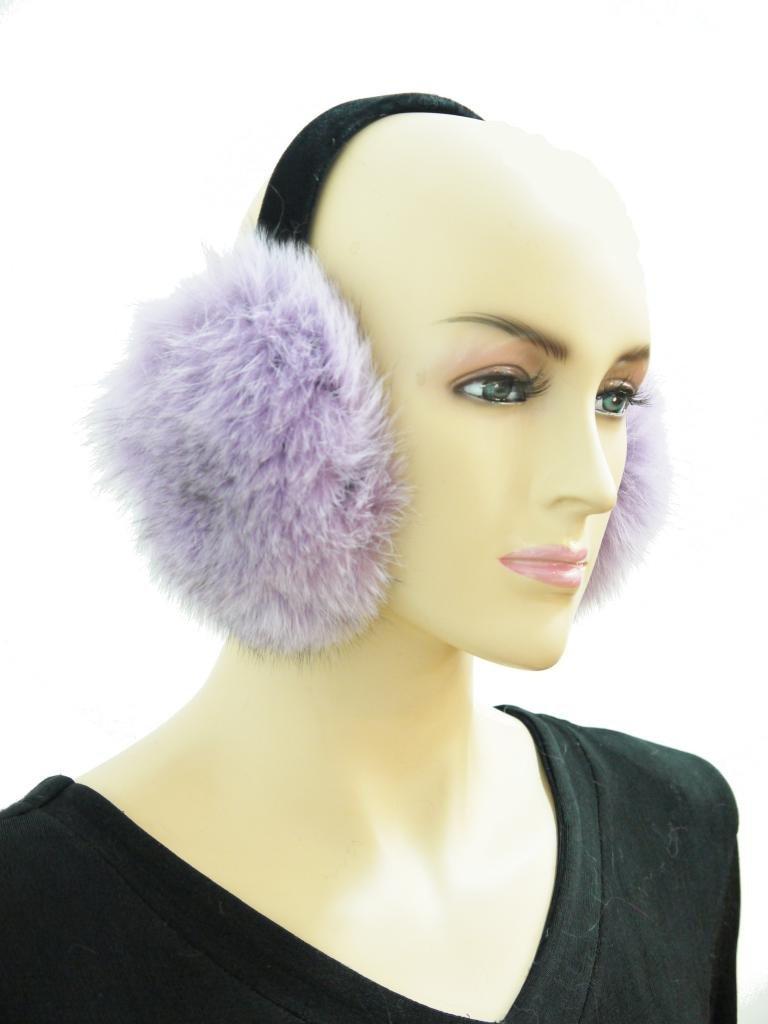 [해외]여성 & 39;의 여우 털 귀마개/Women&s Fox Fur Earmuf..