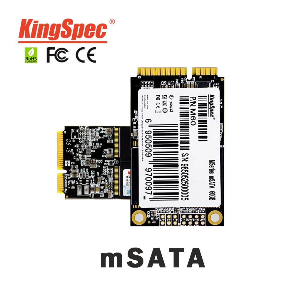 ACSC2M064mSA Original mSATA Mini PCIE 6Gb/s Msata SSD 60GB Solid State Drive for HP Thin Client, motherboard, Laptop, Desktop(China (Mainland))