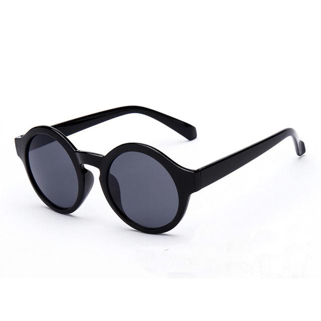Пластиковая Рамка Sexy Круглый Солнцезащитные Очки Женщины Покрытие Leopard Марка óculos Моды Очки Подарки Девушки
