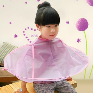 Free shipping for baby infant child Hair Cutting Cape Hairdressing salon Gown Bib Barber Shampoo Styling haircut cloth(China (Mainland))
