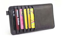 2016 New Hot Sell Luxury Ultra-thin Multi Places Card Bag Wallet Men & Women 100% Genuine Cow Leather Card Bag,JG3053