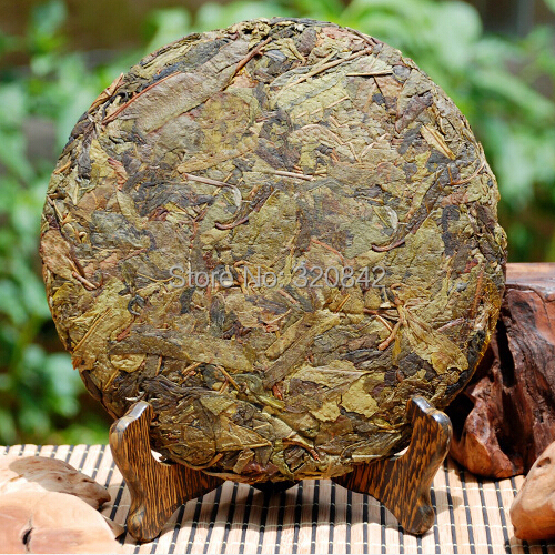 357g Wu Yi puer tea 2014 Chinese raw tea pu er natural old tree early spring