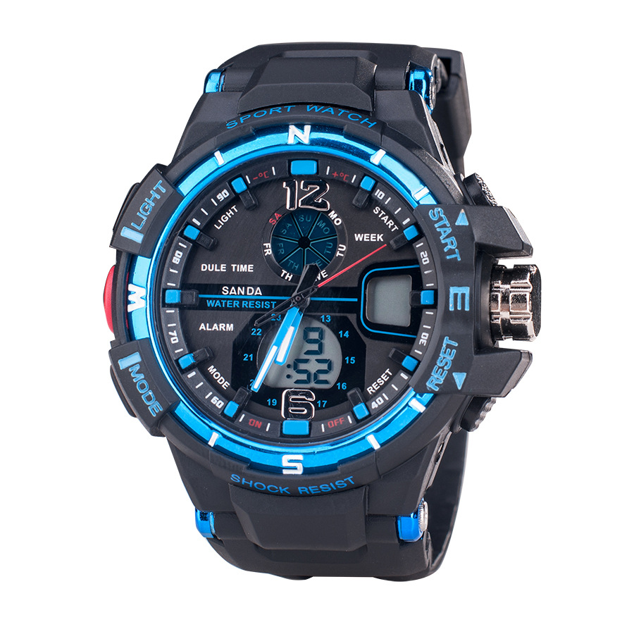 Watches Sapphire Digital Round Silicone Under 10mm Men Real New Arrival Watch 2015 Reloj Smart Outdoor Electronic Man Table(China (Mainland))