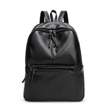 Buy New Fashion Backpack Women Bags Travel Casual Shoulder Bag PU Leather School Backpack College Girls Gift for $19.89 in AliExpress store