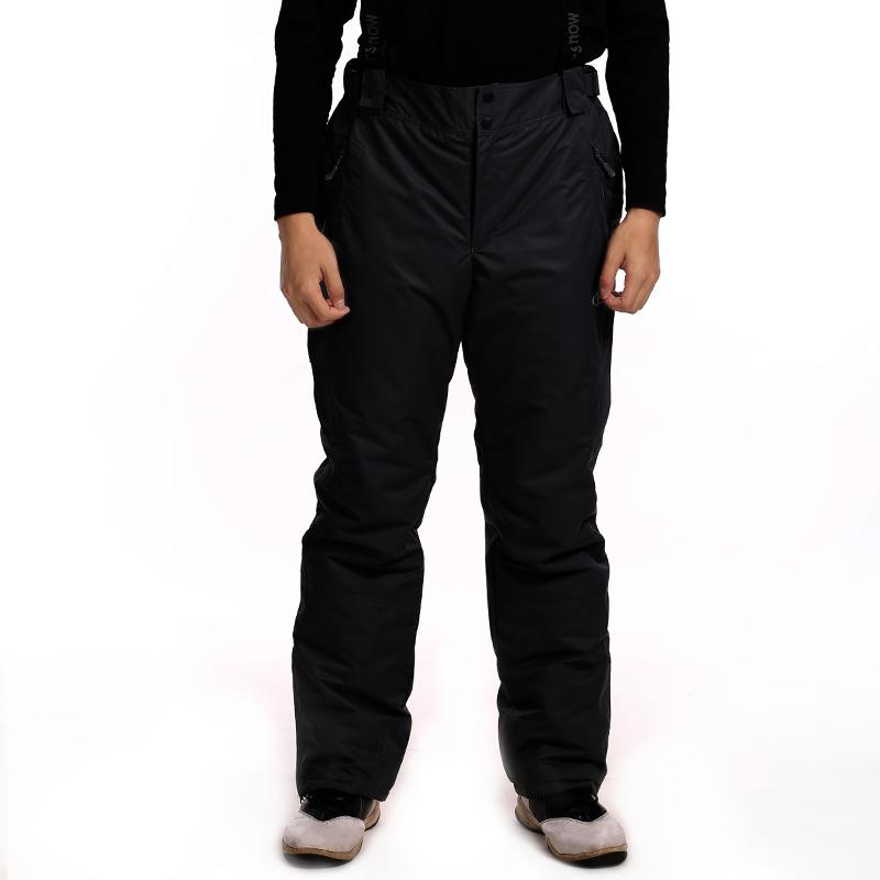 Dropshipping New Fashion Sport Pants Winter Warm double layer windproof Snow snowboard Suspenders Pants men ski pants waterproof