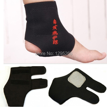 2Pairs Magnetic Therapy Spontaneous Self-heating Ankle Brace Support Belt Foot Health Care nJhM