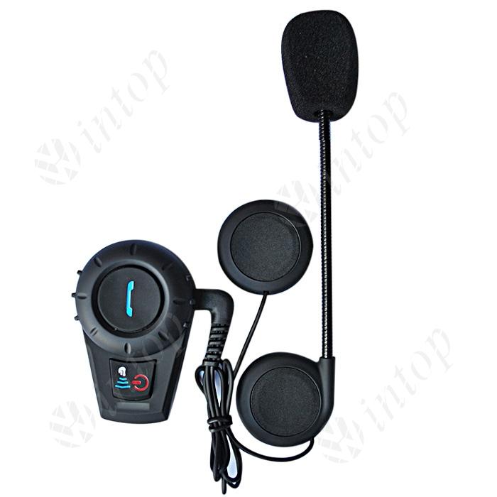 1 pcs Wireless Motorcycle Helmet Waterproof Intercom Intercomunicador Bluetooth Moto up to 3 Riders(China (Mainland))