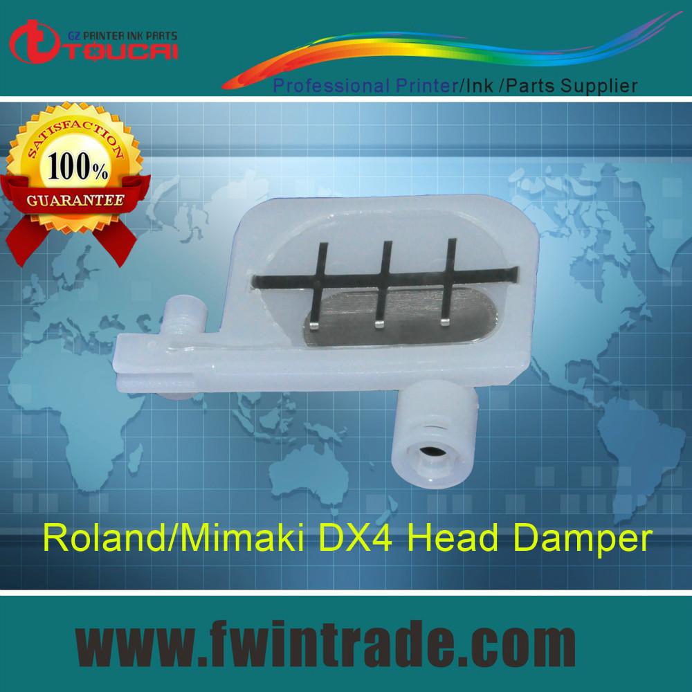 2pcs dx4 damper free mutoh mimaki jv3 jv4 jv22 roland SC540 FJ740 FJ540 SP540 SP300 printer ink filter small dx4 head damper(China (Mainland))