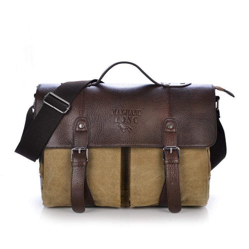 Newest Retro Fashion Cavas Messenger Bag, School Shoulder, Travelling Bag, Women And Man Bag 3 Colors, Wholesales,Free Ship,1169