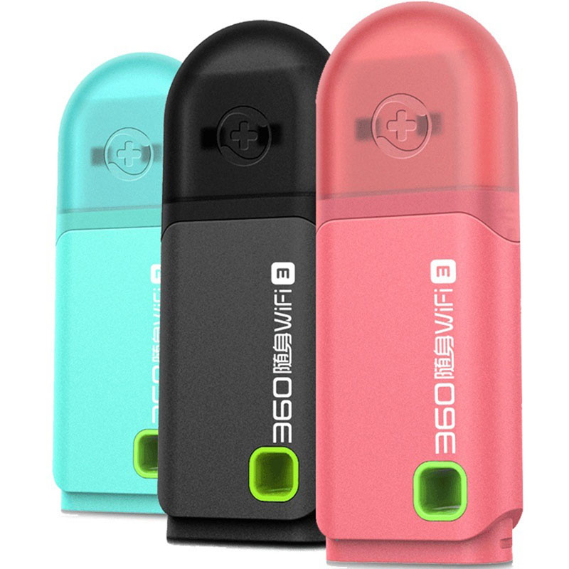 Original 360 Portable Mini Pocket WiFi 3 Wireless Network Router Best Price 3 Colors Pink/Blue/Black Wi-Fi Router(China (Mainland))