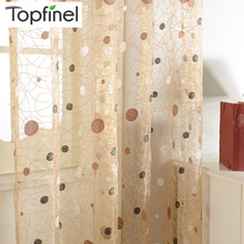 2015 New bird nest modern window sheer curtain for kitchen living room the bedroom finished blinds tulle for windows fabric(China (Mainland))